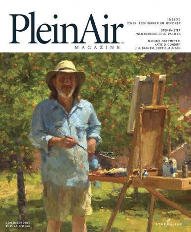 Pleinair (Digital) August 1st, 2015 Issue Cover
