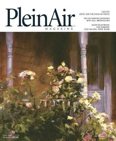 Pleinair (Digital) June 1st, 2015 Issue Cover