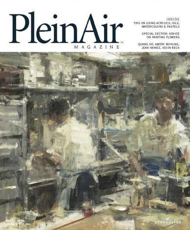 Pleinair February 1st, 2015 Digital Back Issue Cover