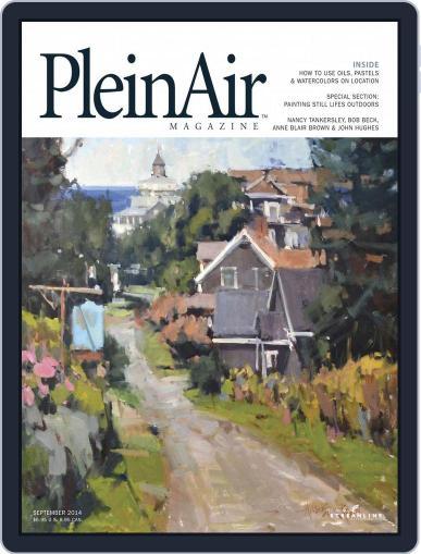 Pleinair (Digital) September 1st, 2014 Issue Cover