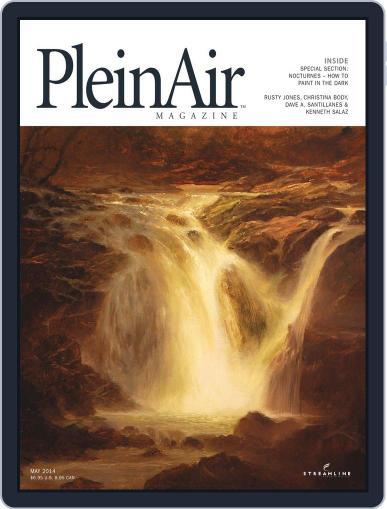 Pleinair (Digital) April 4th, 2014 Issue Cover