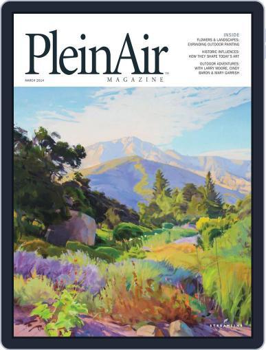 Pleinair (Digital) February 1st, 2014 Issue Cover