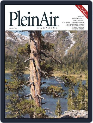 Pleinair (Digital) October 1st, 2013 Issue Cover