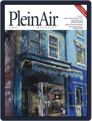 Pleinair (Digital) August 1st, 2013 Issue Cover