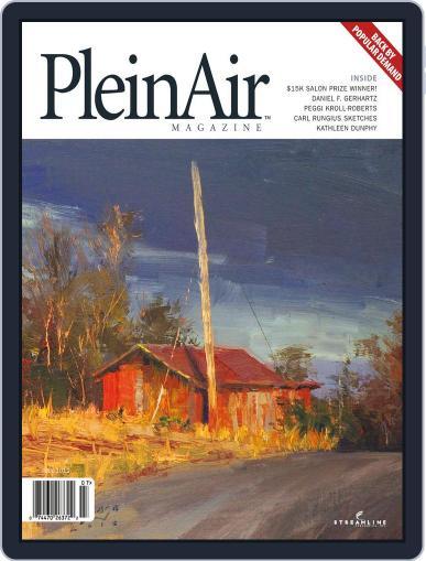 Pleinair June 1st, 2012 Digital Back Issue Cover
