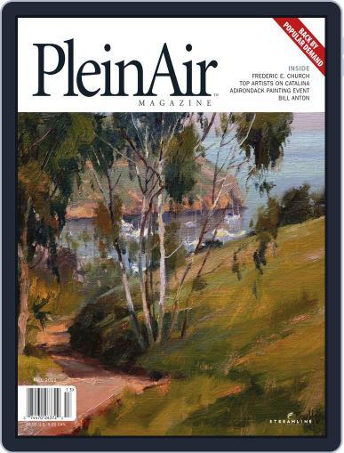 Pleinair August 29th, 2011 Digital Back Issue Cover