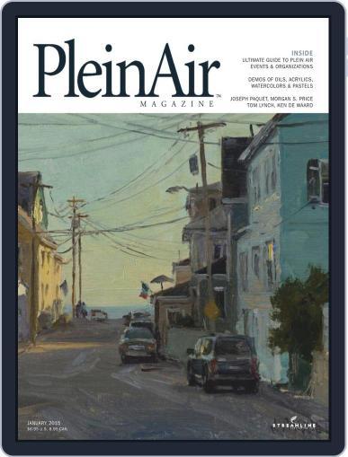 Pleinair January 1st, 1970 Digital Back Issue Cover