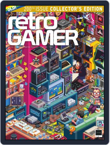 Retro Gamer October 15th, 2019 Digital Back Issue Cover