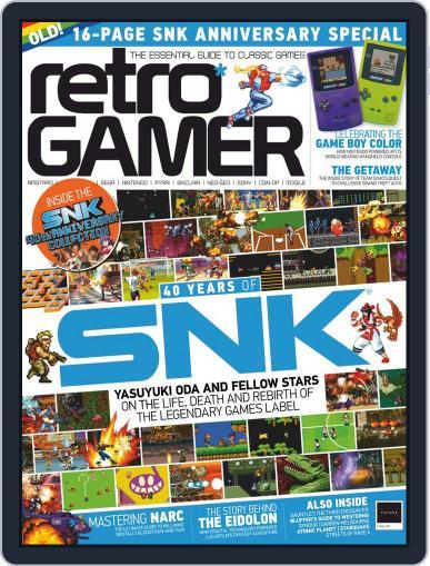 Retro Gamer (Digital) November 1st, 2018 Issue Cover