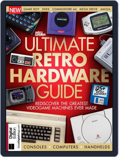 Retro Gamer (Digital) August 27th, 2018 Issue Cover