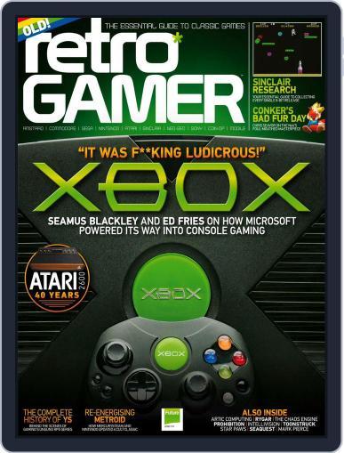 Retro Gamer (Digital) November 2nd, 2017 Issue Cover
