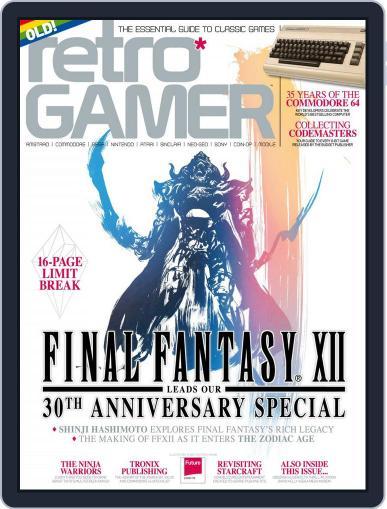 Retro Gamer (Digital) July 13th, 2017 Issue Cover