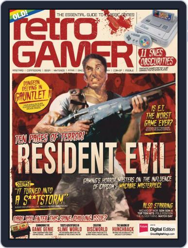 Retro Gamer (Digital) April 1st, 2017 Issue Cover