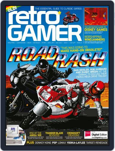 Retro Gamer March 23rd, 2017 Digital Back Issue Cover