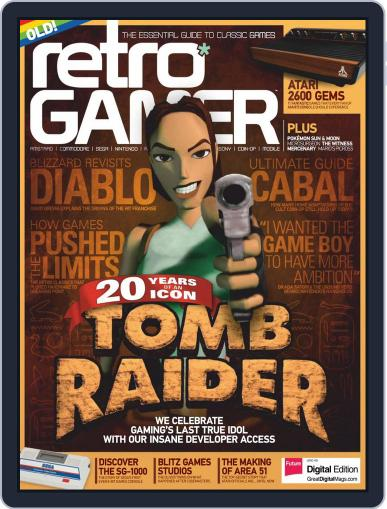 Retro Gamer (Digital) March 1st, 2017 Issue Cover