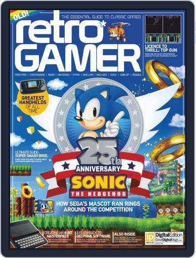 Retro Gamer (Digital) August 11th, 2016 Issue Cover