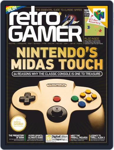 Retro Gamer (Digital) July 14th, 2016 Issue Cover