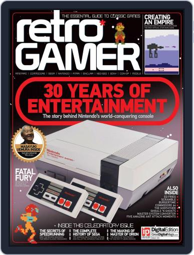 Retro Gamer (Digital) May 19th, 2016 Issue Cover