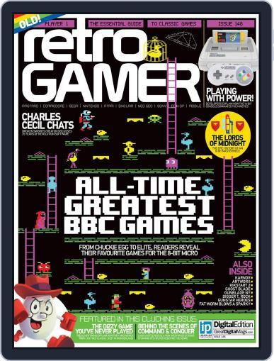 Retro Gamer (Digital) December 1st, 2015 Issue Cover