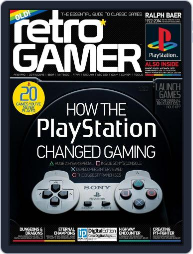 Retro Gamer (Digital) January 2nd, 2015 Issue Cover