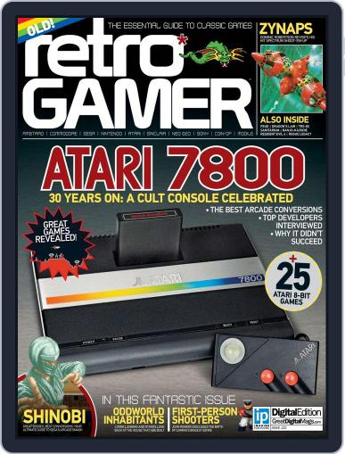Retro Gamer (Digital) August 13th, 2014 Issue Cover