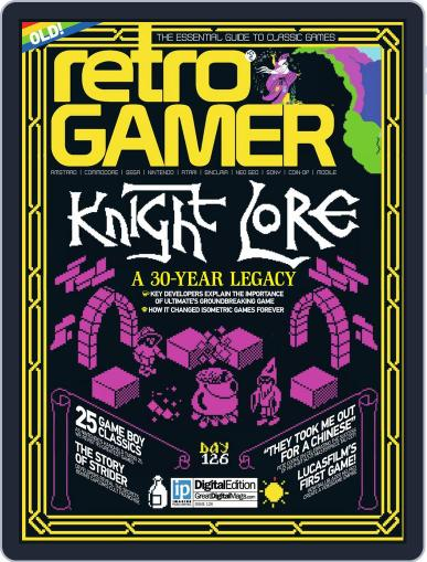 Retro Gamer (Digital) March 3rd, 2014 Issue Cover