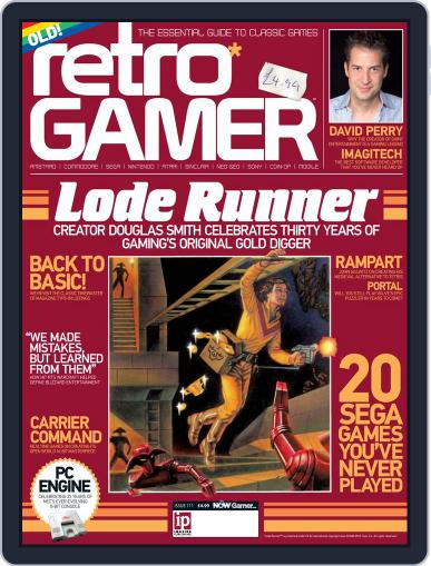 Retro Gamer (Digital) January 2nd, 2013 Issue Cover