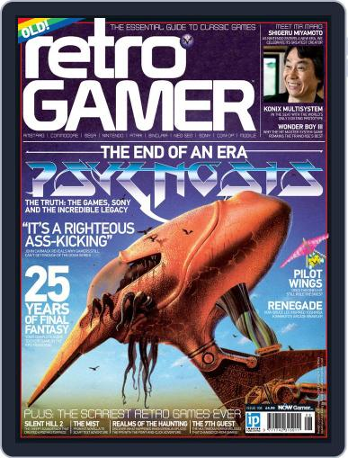 Retro Gamer (Digital) October 10th, 2012 Issue Cover