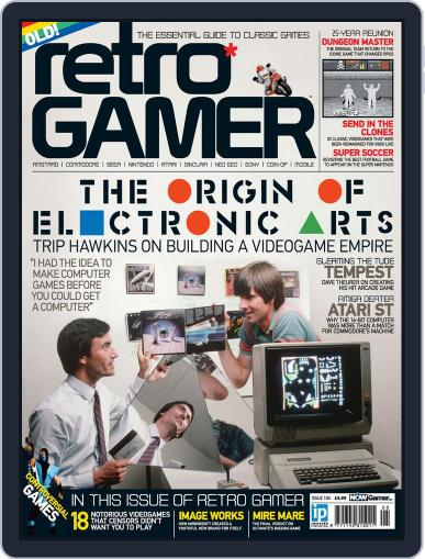 Retro Gamer July 18th, 2012 Digital Back Issue Cover