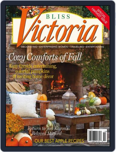 Victoria October 20th, 2014 Digital Back Issue Cover