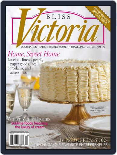 Victoria (Digital) January 1st, 2012 Issue Cover