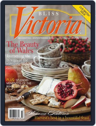 Victoria September 1st, 2011 Digital Back Issue Cover