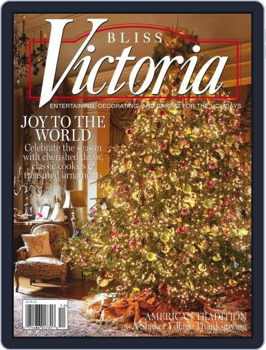 Victoria November 1st, 2010 Digital Back Issue Cover