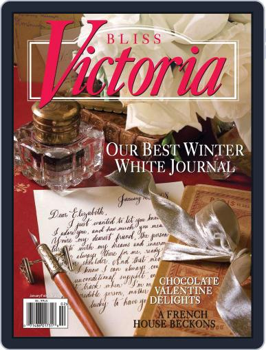 Victoria (Digital) January 1st, 2008 Issue Cover