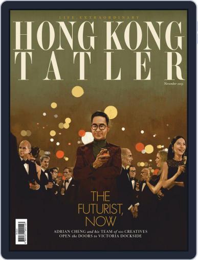 Tatler Hong Kong November 1st, 2019 Digital Back Issue Cover
