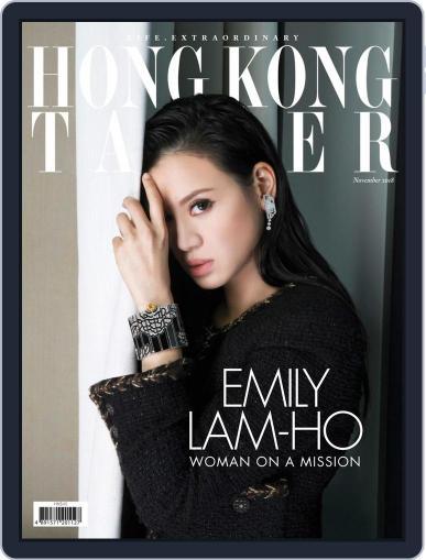 Tatler Hong Kong November 1st, 2018 Digital Back Issue Cover