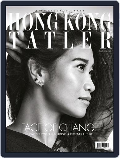 Tatler Hong Kong September 1st, 2018 Digital Back Issue Cover