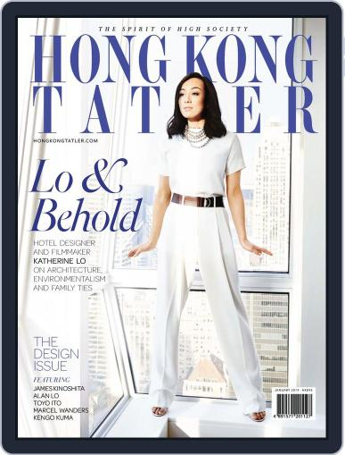 Tatler Hong Kong January 2nd, 2014 Digital Back Issue Cover