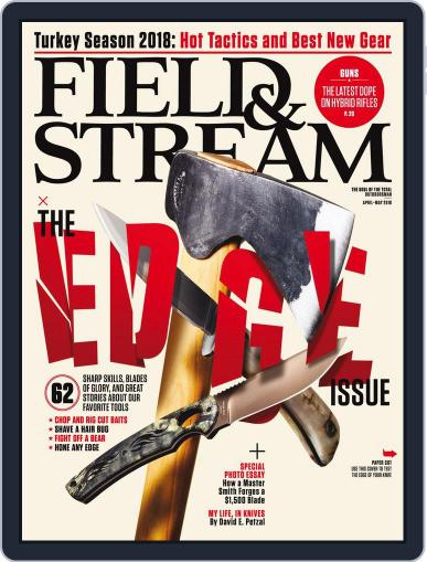 Field & Stream (Digital) April 1st, 2018 Issue Cover