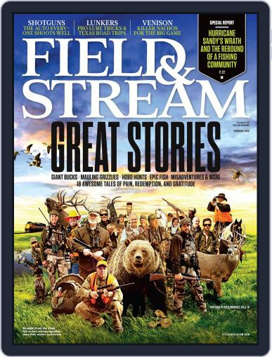 Field & Stream (Digital) January 7th, 2013 Issue Cover