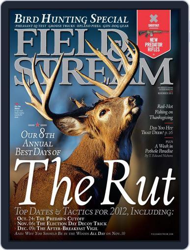 Field & Stream (Digital) October 10th, 2012 Issue Cover