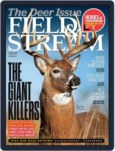Field & Stream (Digital) September 8th, 2012 Issue Cover