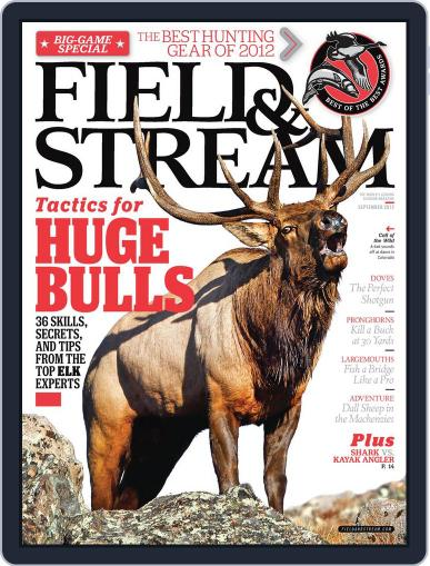 Field & Stream (Digital) August 10th, 2012 Issue Cover