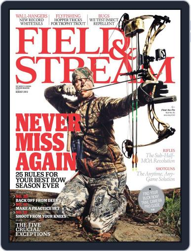Field & Stream (Digital) July 7th, 2012 Issue Cover