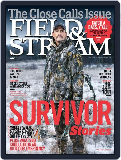 Field & Stream (Digital) January 7th, 2012 Issue Cover