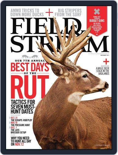 Field & Stream (Digital) October 8th, 2011 Issue Cover