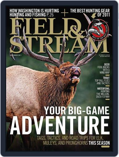 Field & Stream (Digital) August 6th, 2011 Issue Cover