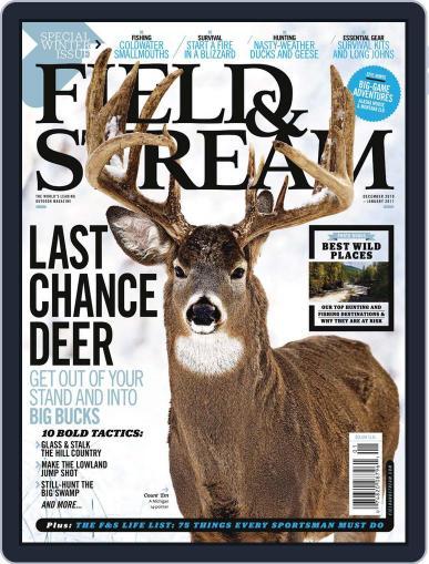 Field & Stream (Digital) November 13th, 2010 Issue Cover