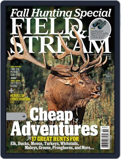 Field & Stream (Digital) September 11th, 2010 Issue Cover