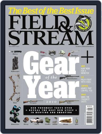Field & Stream (Digital) August 7th, 2010 Issue Cover